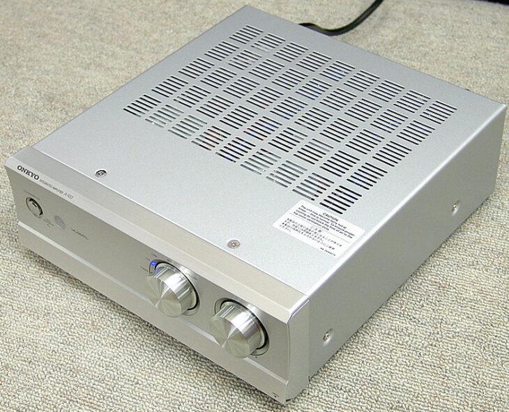 東京都西東京市でONKYO(オンキョー)【A-933(S)】プリメインアンプを買取させていただきました。