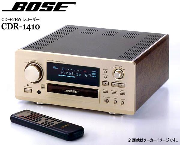 東京都板橋区でBOSE【CDR-1410】ボーズ CDリライタブルデッキ CD-R/RWレコーダーの買取をさせていただきました。