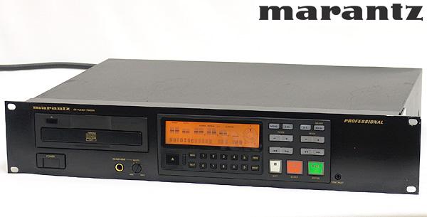 東京都文京区でMarantz【PMD330】マランツ 2U プロフェッショナルCDプレーヤーの買取をさせていただきました。