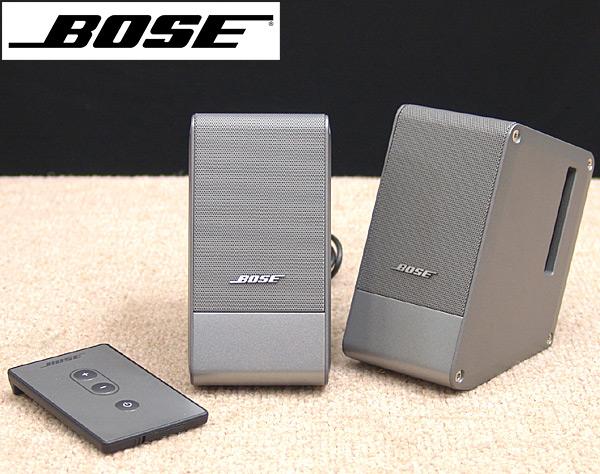東京都豊島区でBOSE【M2】ボーズ アンプ内蔵 Computer MusicMonitorの買取をさせていただきました。