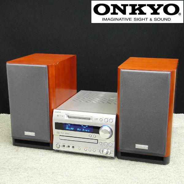 東京都江戸川区でONKYO【X-N9X】オンキョー FR-N9X/D-N9X CD/MDチューナーアンプ ミニコンポの買取をさせていただきました。