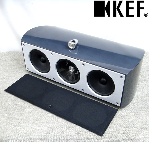 東京都荒川区でKEF【XQ two c】4ウェイ センタースピーカーの買取をさせていただきました。