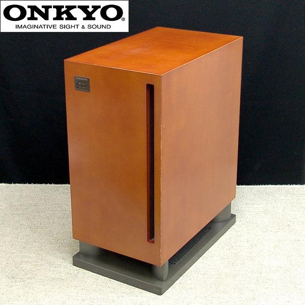 東京都杉並区でONKYO【SL-407】オンキョー アンプ内蔵サブウーファーの買取をさせていただきました。