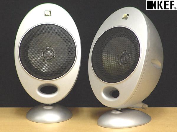 東京都江戸川区でKEF【HTS2001.2】Uni-Q KHT2005.2システム用サテライトスピーカー ペア シルバーの買取をさせていただきました。