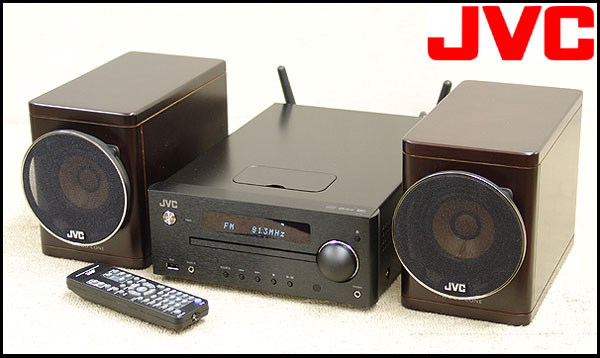 東京都杉並区でJVC【EX-N5】ビクター Wi-Fi AirPlay DLNA対応 ウッドコーン コンパクトコンポーネントシステムの買取をさせていただきました。