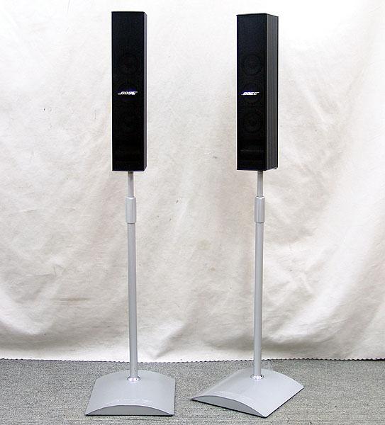 東京都北区でBOSE【33WER】ボーズ コンパクト・スピーカーシステム ペア フロアスタンド付きの買取をさせていただきました。